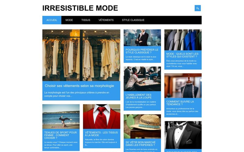 Irrésistible mode - Devenez la référence mode de votre entourage